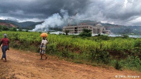 Burundi, Bau des Präsidentenpalastes in Bujumbura (DW/A. Niragira)