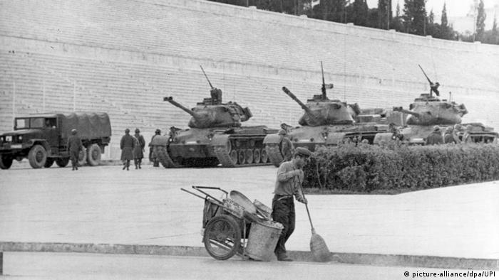 Militärputsch in Griechenland 1967