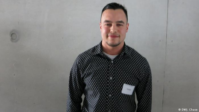Junge Islam-Konferenz, Teilnehmer | Voltan Turan (DW/J. Chase)