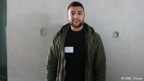 Junge Islam-Konferenz, Teilnehmer | Ahmed Hanchi (DW/J. Chase)