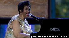 USA Aretha Franklin beim International Jazz Day