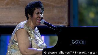 USA Aretha Franklin beim International Jazz Day (picture-alliance/AP Photo/C. Kaster)