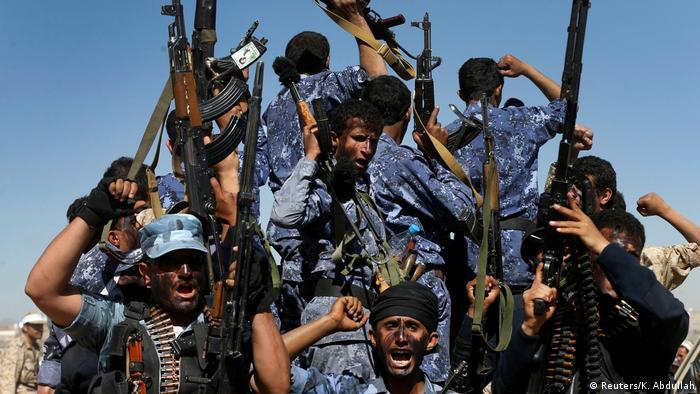 Yemen Sanaa - Houthi Rebellen