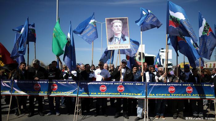 Bulgarien | bulgarische Nationalisten blockieren die Grenze zur Türkei (Reuters/S. Nenov)
