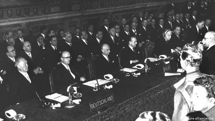 Römische Verträge - Unterzeichnung - Europa