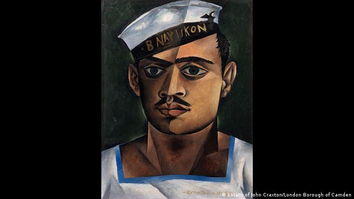 Painting, Head of a Greek Sailor (Estate of John Craxton/London Borough of Camden)