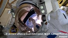 Außeneinsatz an der ISS - Thomas Pesquet (picture-alliance/dpa/AP//European Space Agency/Thomas Pesquet)