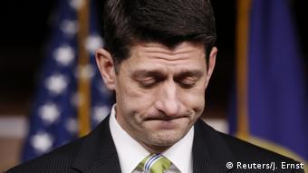 USA Washington - Paul Ryan äußert sich nachdem die Republikaner ihre Gesundheitsreform zurückzogen