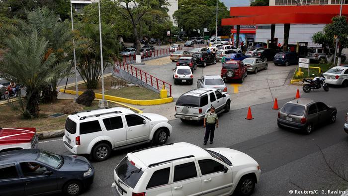 Venezuela Versorgungskrise Tankstelle