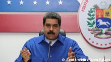 Venezuela Caracas Prasident Nicolas Maduro