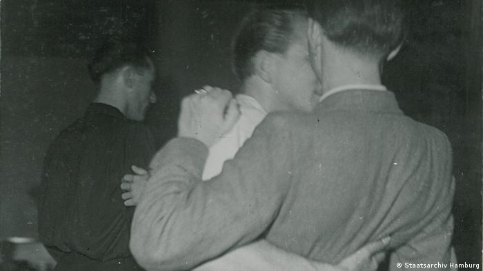 Tańczący homoseksualiści (Hamburg 1952)