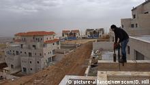Symbolbild Israel Siedlungen im Westjordanland