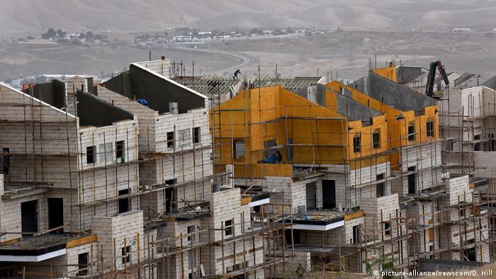 Symbolbild Israel Siedlungen im Westjordanland (picture-alliance/newscom/D. Hill)