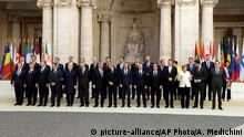 EU feiert 60. Geburtstag in Rom