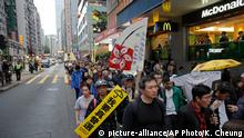 Hongkong Demonstration Wahlen