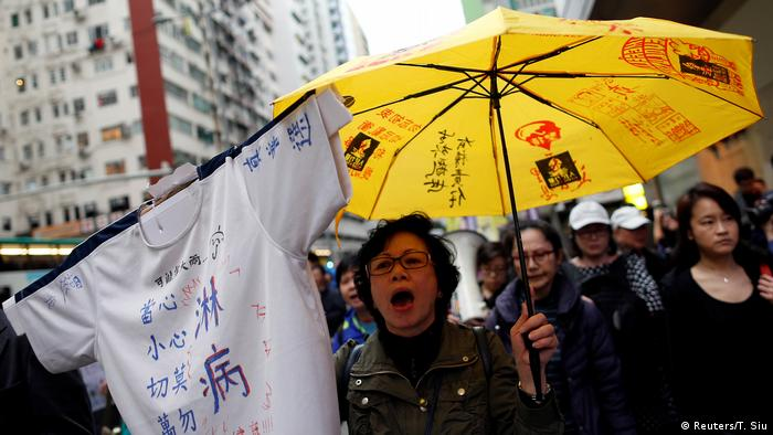 Hongkong Demonstration Wahlen (Reuters/T. Siu)