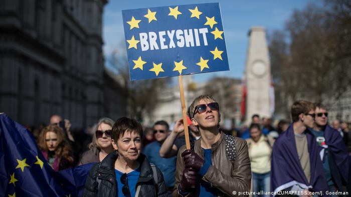 UK Kundgebung 'Unite for Europe' (picture-alliance/ZUMAPRESS.com/J. Goodman)