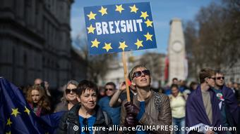 UK Kundgebung 'Unite for Europe' (picture-alliance/ZUMAPRESS.com/J. Goodman)