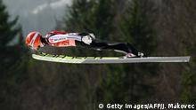 Auf 248 Meter gesegelt: Markus Eisenbichler