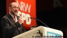 SPD-Chef Schulz auf der Landesdelegiertenkonferenz der NRW-Sozialdemokraten