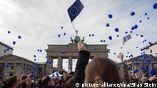 Demonstration March for Europe in Berlin