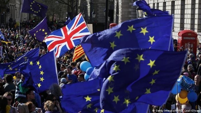 London Pro Europa Demonstration (Getty Images/AFP/D. Leal-Olivas)