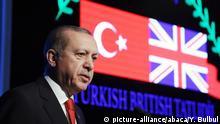 Türkei Antalya Erdogan Türkisch-Britisches Forum