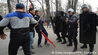 Протесты марта 2017 года в Бишкеке