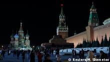 Moskau Kreml Earth Hour