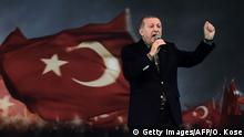 Türkei Istanbul Rede Erdogan