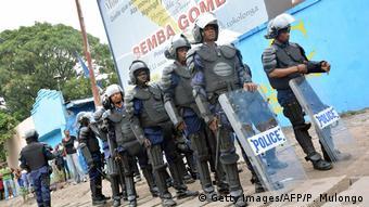 Kongo Polizei