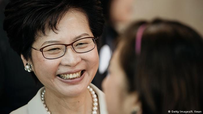 HongKong Chief Executive Wahlen Carrie Lam (Getty Images/A. Kwan)