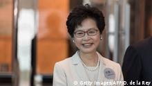 Hongkong chief executive Kandidatin Carre Lam