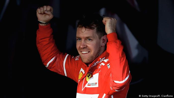 Australien Formel 1 Grand Prix Vettel Jubel (Getty Images/R. Cianflone)