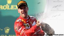 Australien Formel 1 Grand Prix Vettel
