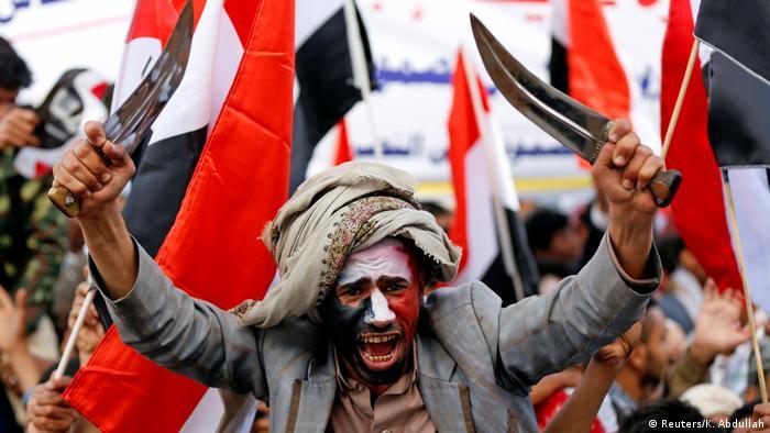 Jemen Huthi Demonstration (Reuters/K. Abdullah)