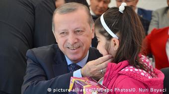 Türkei Präsident Erdogan in Denizli