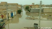 Iran Hochwasser in Buschehr Provinzen - Iran. Hochwasser und starke Regengüsse in den Buschehr-Provinzen.