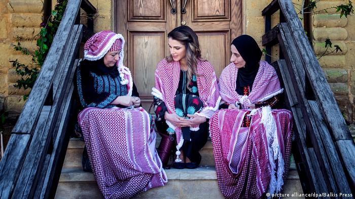 Königin RaniaAl Abdullah Jordanien (picture alliance/dpa/Balkis Press)