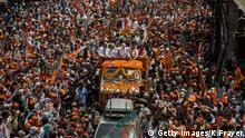 Narendra Modi Varanasi Indien (Getty Images/K.Frayer)