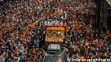 Narendra Modi Varanasi Indien