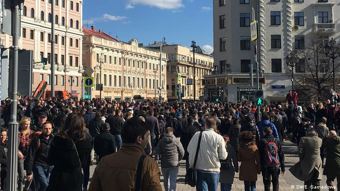Задержанные на акции оппозиции 26 марта подали жалобы в ЕСПЧ