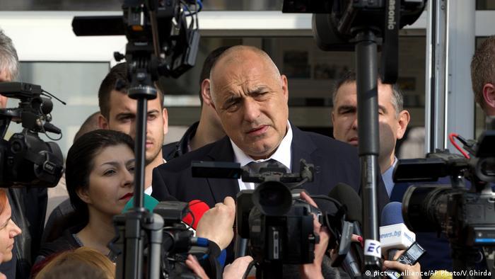 Бойко Борисов пред журналисти