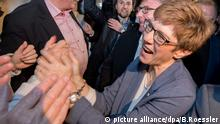 Annegret Kramp-Karrenbauer (picture alliance/dpa/B.Roessler)