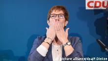 Landtagswahl Saarland Annegret Kramp-Karrenbauer