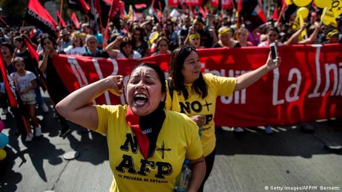 En este estallido social, la organización No+AFP busca reconfigurar totalmente el sistema de pensiones.