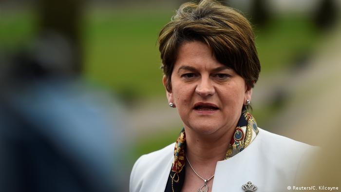Nordirland DUP-Chefin Arlene Foster (Reuters/C. Kilcoyne)