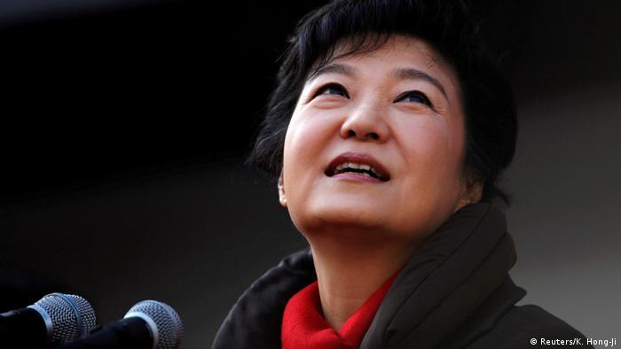 Südkorea - ehemalige Präsidentin Park Geun-hye (Reuters/K. Hong-Ji)