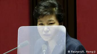 Südkorea - ehemalige Präsidentin Park Geun-hye