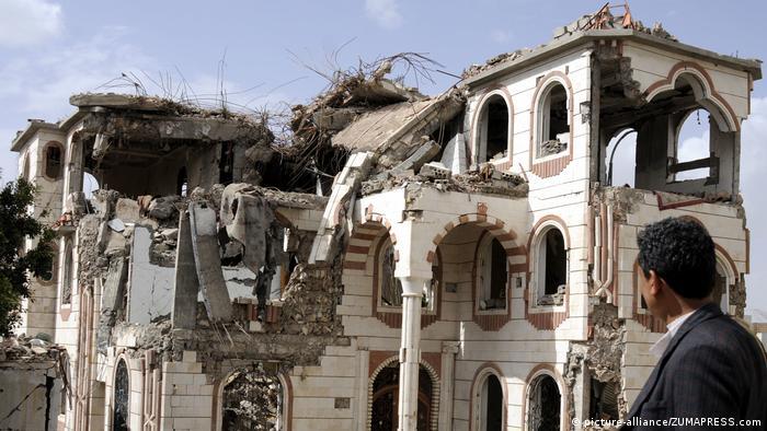 Jemen Krieg Zerstörung in Sanaa